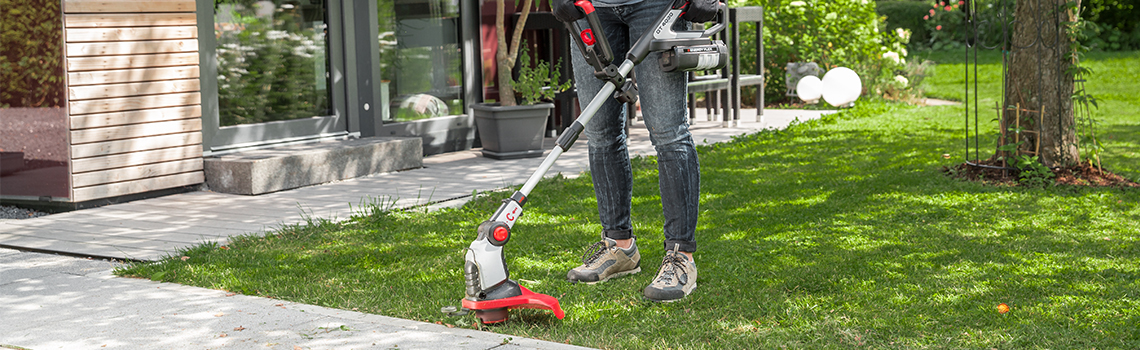 Lawn trimmers | AL-KO lawn trimmers in use