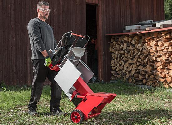 Wood splitter | AL-KO Mobile splitter with wheels