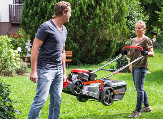 Lawnmower | AL-KO front carrying handle