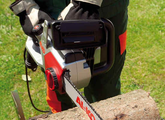 AL-KO chain saws advantages | double safety